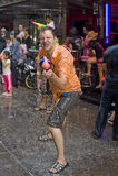 Festival tailandese di nuovo anno Fotografia Stock
