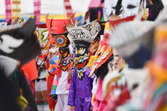 Festival tailandese variopinto Phi Ta Khon 2017 Immagine Stock