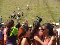 Festival Tapati - Easter Island Royalty Free Stock Photos