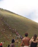 Festival Tapati - het Eiland van Pasen Royalty-vrije Stock Afbeeldingen