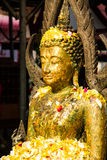Festival in temple stock photo