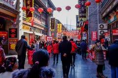Festival temple fair Stock Photo