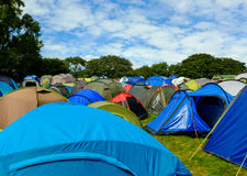 Festival tents Stock Photography