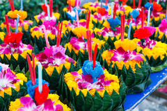Festival in Thailand. Royalty Free Stock Photography