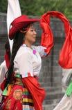 Festival tibetano Foto de archivo libre de regalías