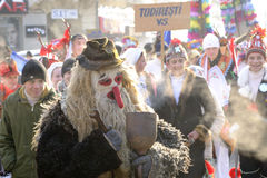 Festival tradicional del invierno Fotografía de archivo