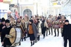 Festival tradicional del invierno Imagenes de archivo