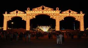 Festival tradicional en España Imagenes de archivo