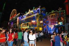 Festival tradicional en España Imágenes de archivo libres de regalías