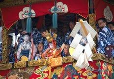 Festival tradicional japonés Imagenes de archivo