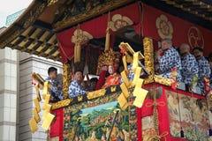 Festival tradicional japonés Fotografía de archivo libre de regalías