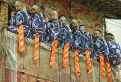 Festival tradicional japonés Imagen de archivo libre de regalías