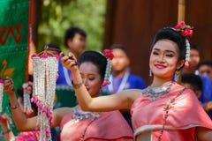 Festival tradicional tailandés de la cultura Foto de archivo