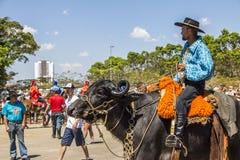 Festival tradizionale della cultura dello stato di Revelando São Paulo - di Sao Paulo fotografie stock