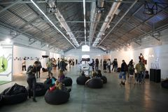 Festival troisièmement international de conception image libre de droits