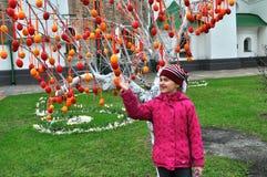 Festival ucraniano del pysanka Imagen de archivo