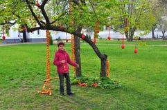 Festival ucraniano del pysanka Imagenes de archivo