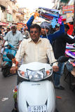 Festival Uttrayan de la cometa/sankranti Gujarat, la India de Makar Fotos de archivo