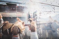 Festival végétarien de Phuket dans la province de Phuket, Thaïlande Image libre de droits