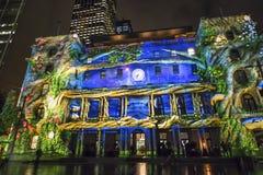 Festival vívido, Sydney, Austrália fotos de stock