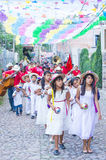 Festival of Valle del Maiz Stock Images