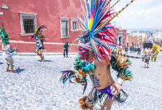 Festival of Valle del Maiz Royalty Free Stock Photography