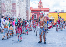 Festival of Valle del Maiz Royalty Free Stock Photos