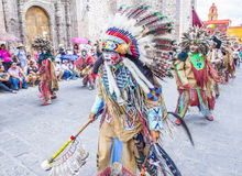 Festival of Valle del Maiz Royalty Free Stock Image
