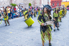 Festival of Valle del Maiz Stock Photography