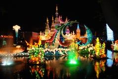 Festival van de Lantaarn van Toronto het Chinese Stock Foto's
