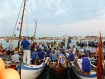Festival van de Verlosser in Venetië Royalty-vrije Stock Afbeeldingen