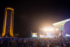 Festival van etnische muziek Forey Stock Afbeeldingen