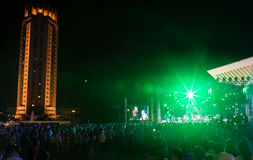 Festival van etnische muziek Forey Stock Fotografie