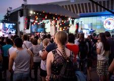 Festival van etnische muziek Forey Royalty-vrije Stock Fotografie