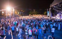 Festival van etnische muziek Forey Stock Afbeelding
