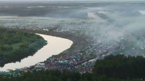 Festival van het lied van de auteur in Rusland stock footage