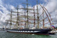 Festival van het varen in de haven Stock Foto
