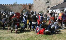 Festival van middeleeuwse cultuur stock fotografie