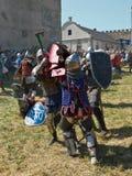 Festival van middeleeuwse cultuur stock foto