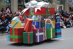 Festival van santa clous in Montreal stock afbeeldingen