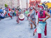 Festival van Valle del Maiz Stock Afbeeldingen