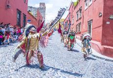 Festival van Valle del Maiz Royalty-vrije Stock Afbeeldingen