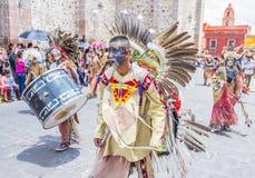 Festival van Valle del Maiz Royalty-vrije Stock Foto's