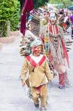 Festival van Valle del Maiz Royalty-vrije Stock Fotografie