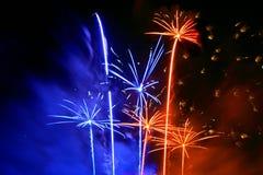 Festival van vuurwerk Royalty-vrije Stock Afbeeldingen
