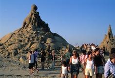 Festival van zand. België Stock Afbeelding