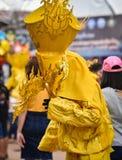 Festival variopinto Phi Ta Khon 2017 della maschera Fotografia Stock Libera da Diritti