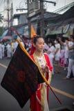 Festival vegetariano 2014 di Phuket fotografia stock libera da diritti
