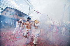Festival vegetariano 2014 di Phuket immagine stock libera da diritti