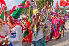 Festival of the Virgin of Guadalupe in Mexico City Stock Image